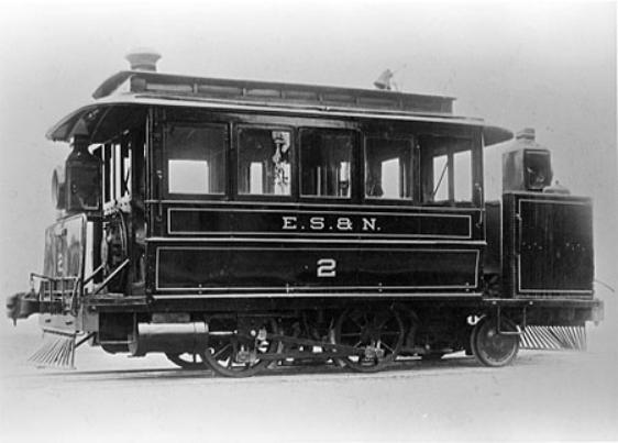 Dummy locomotive #2 named F.W. Cook